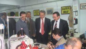 Balışeyh Belediye Başkanı Cehti Pehlivanlı İskilip'i ziyaret etti