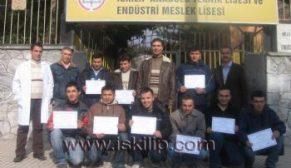 İskilip'den Almanya'ya gidecek öğrenciler başarı seçildi