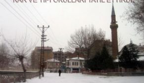 Kar nedeniyle okullar iki gün tatil edildi.