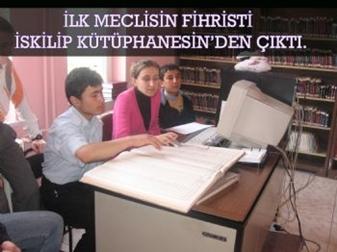Önce çevreyi temizlediler sonra kütüphanede çalışma…
