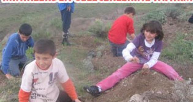 Sakarya İlköğretim okulu öğrencilerinden örnek davranış