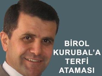 İlçe Kaymakamımız Birol Kurubal'ın tayini çıktı.